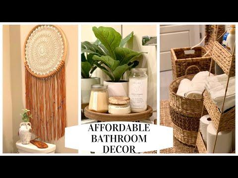 BATHROOM DECOR IDEAS   Bathroom transformation TJ Maxx, Ross, Marshalls