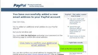 How to add an email address and set it as primary
