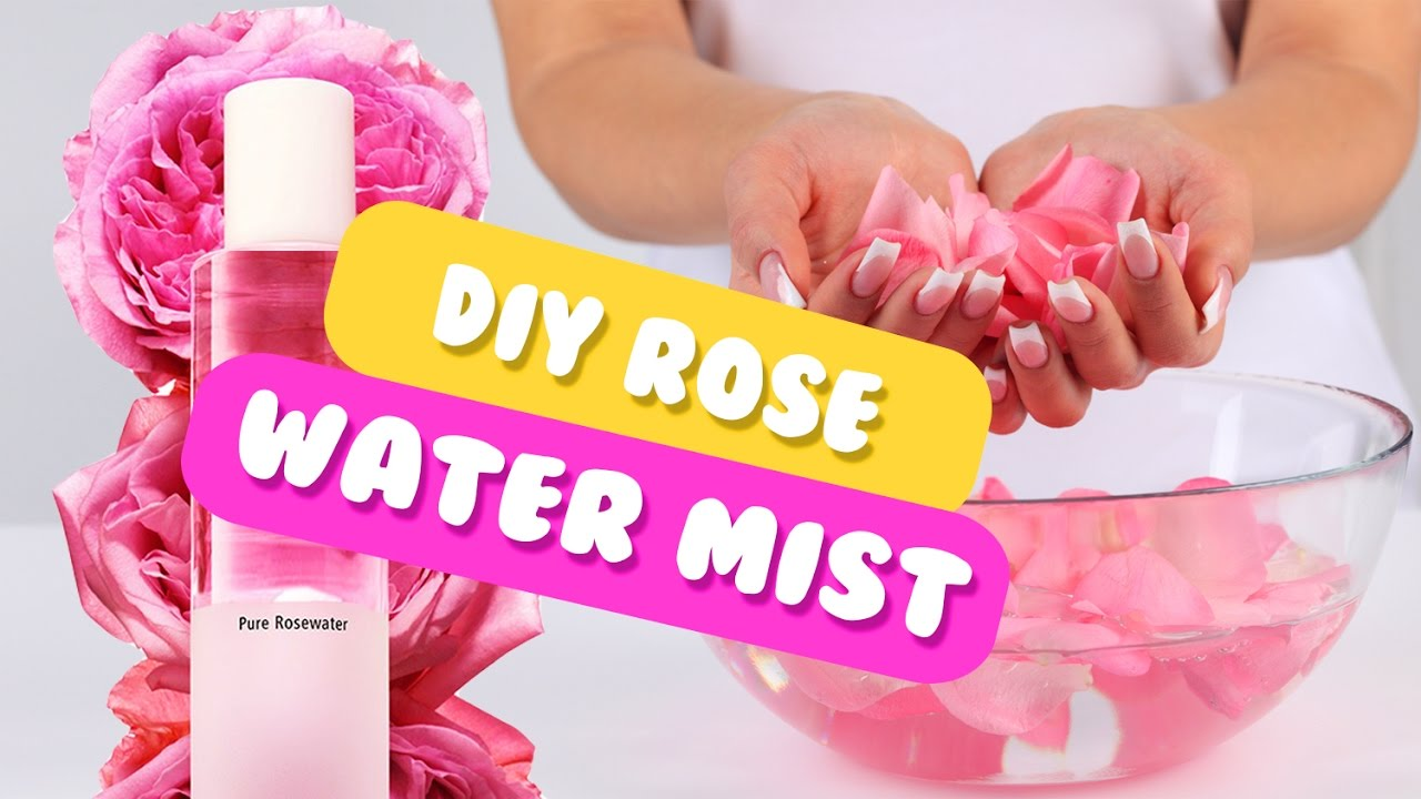 how to prepare rose water in home