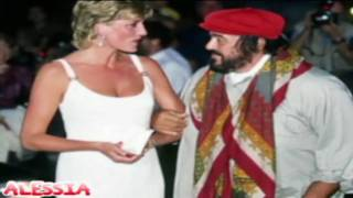 Lady Diana-Donna Non Vidi Mai(by Pavarotti)