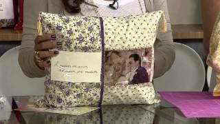 Aprenda a fazer uma linda capa para almofada