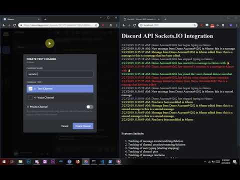 Socket IO-Discord-Log | Devpost