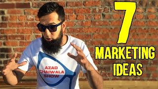 7 Business Marketing Ideas for Any Business in Pakistan India | Azad Chaiwala Show
