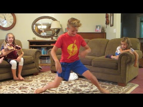 Grandkids Do Fortnite Dance Challenge