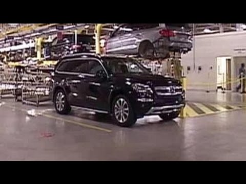 Suv trail mercedes benz 39 s tuscaloosa plant youtube for Mercedes benz tuscaloosa al
