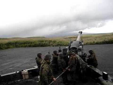 Firing the M198 Howitzer