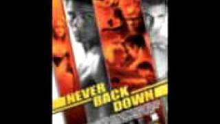 Never back down Above and Below Youtube