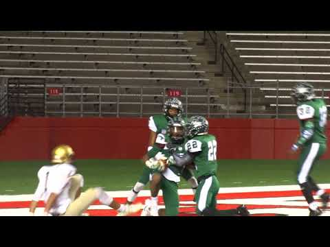 Darrin Cleveland INT in the end zone