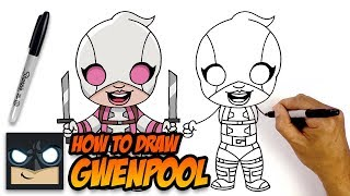 How to Draw Gwenpool | Drawing Tutorial for Beginners