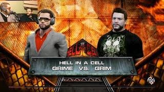 WWE 2K15 GRIME vs GRIM. EXCLUSIVE MATCH!