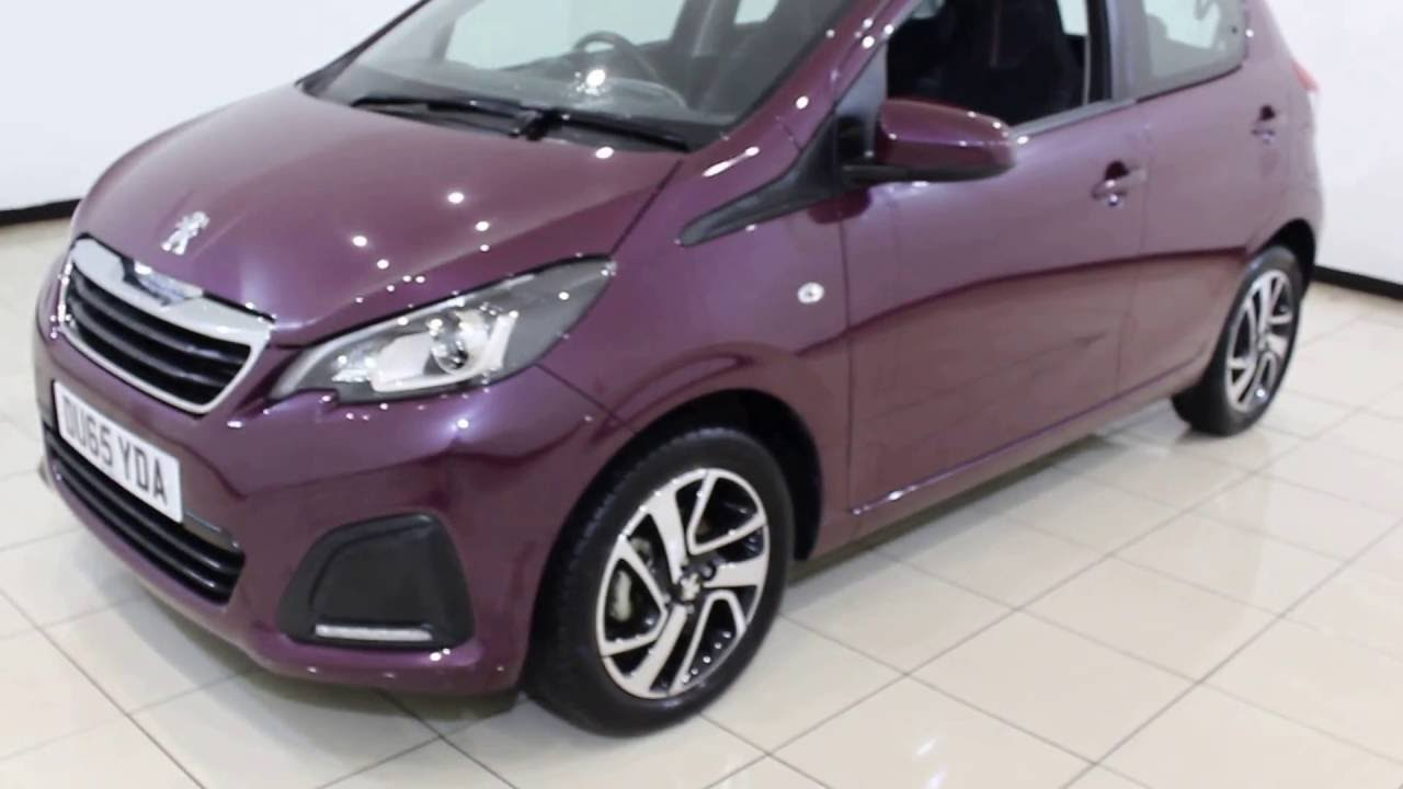 peugeot 108 1 0 active 5dr automatic 68 bhp youtube. Black Bedroom Furniture Sets. Home Design Ideas