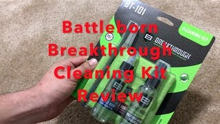 Trying Breakthrough cleaning kit/Had to sell my gun !!!!!!!