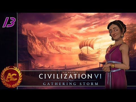 Civilization 6 Gathering Storm - Didone #13 (Gameplay ITA)