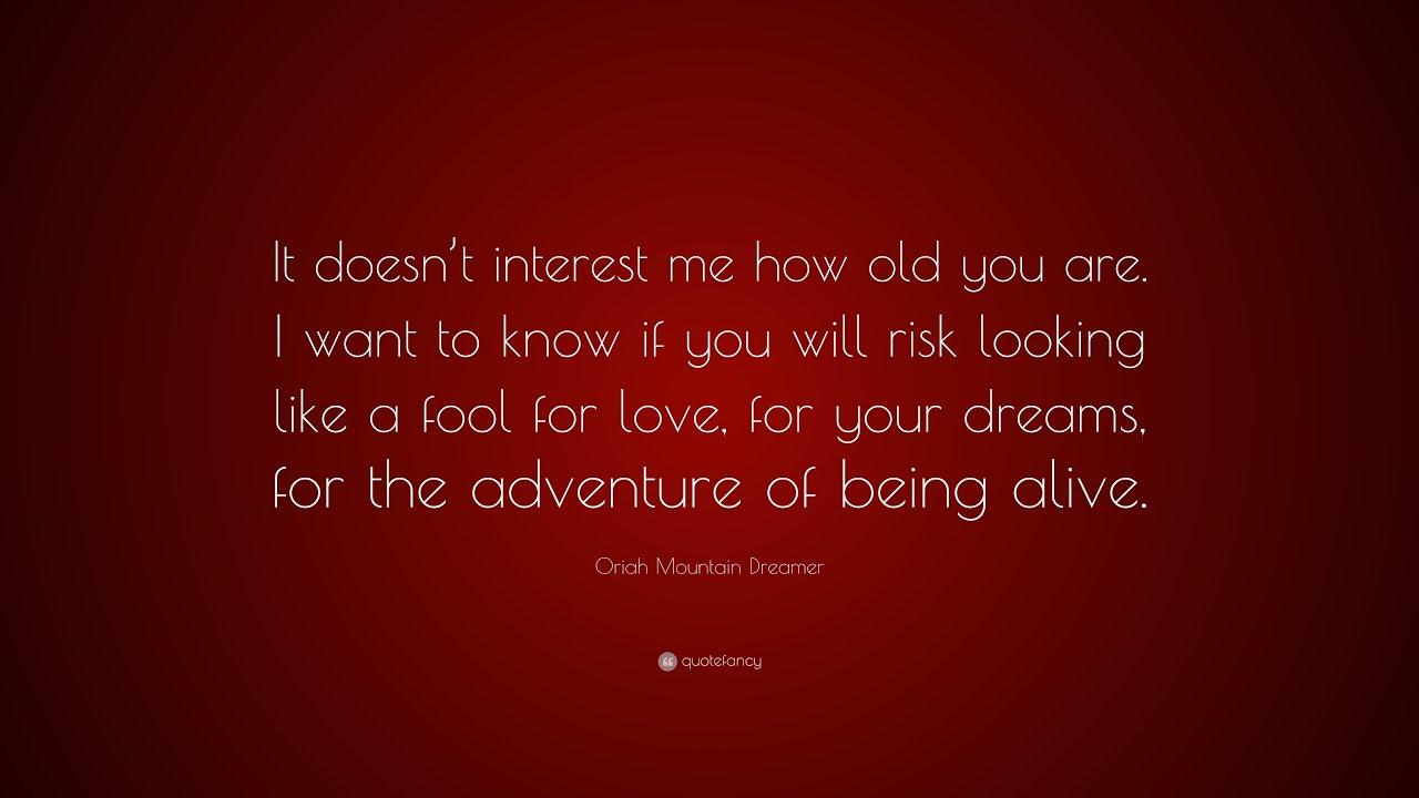 Top 10 Oriah Mountain Dreamer Quotes Youtube