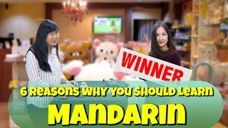 6 Reason Why You Should Learn Mandarin!