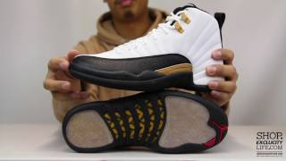 "Air Jordan 12 Retro ""Chinese New Year"" Unboxing Video at Exclucity"
