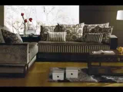 d coration salon marocain 2014 youtube. Black Bedroom Furniture Sets. Home Design Ideas