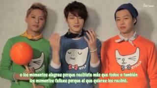 [Sub Español] HD 130212 Entrevista a JYJ por el Día Blanco (White Day) por NII