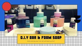 DIY BAR & FOAM SOAP   Zess Owil
