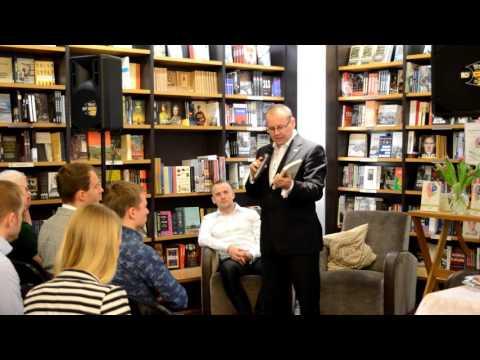 "WSI ""Digital Minds"" book launch in Tallinn with Rob Thomas with Kristjan-Paul Raude (long)"