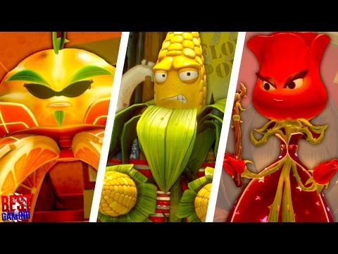 Plants vs. Zombies: Garden Warfare 2 - Full Plant Story Mode Walkthrough (All L.E.A.F. Quests)