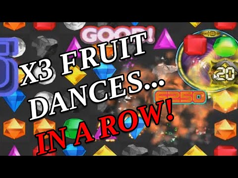 Bejeweled Twist Blitz - 3,346,125 EPIC GAME! (3 Fruit bonuses IN A ROW) |