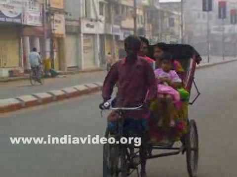 Cycle rickshaws in Agartala