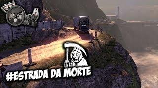 Scania Truck Driving Simulator - Estrada da morte - Com Volante Logitech G27