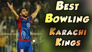 Karachi Kings Bowling   Karachi Kings Vs Islamabad United    Match 30   16 March   HBL PSL 2018