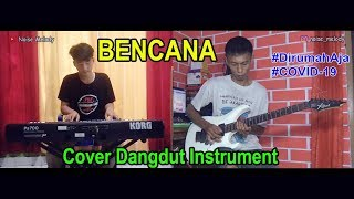 BENCANA (Cover Instrument) By Hendar & Niko Keyboard