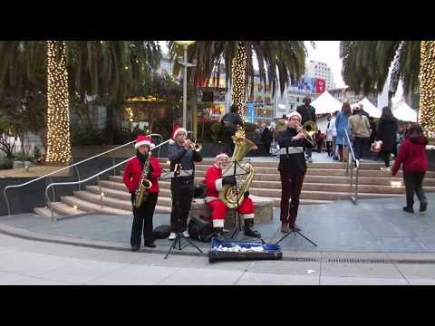 Christmas Music Quartet @ Union Square San Francisco California 2018