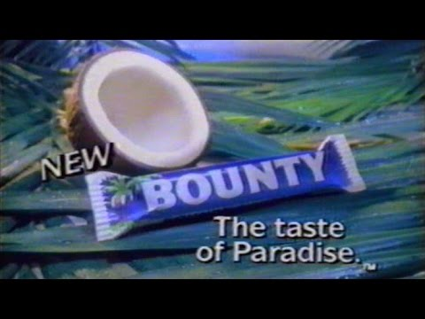Bounty Bar Commercial, Jan 5 1987