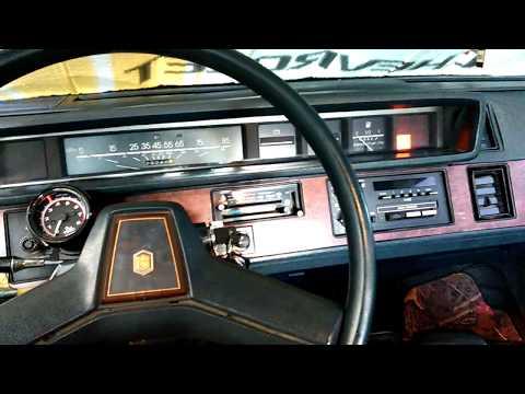 Snowy Cold Start 1985 Chevrolet Celebrity 2.8 V6