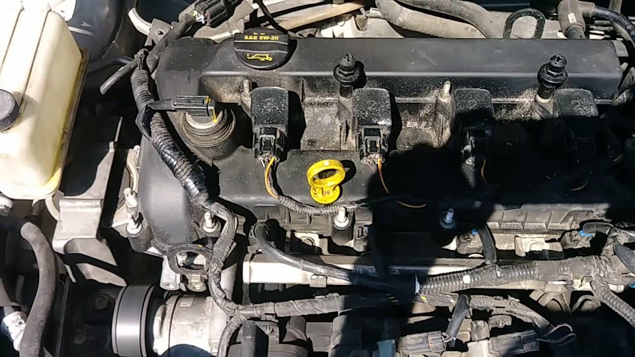 2009 Mazda 5 Engine noise - YouTube
