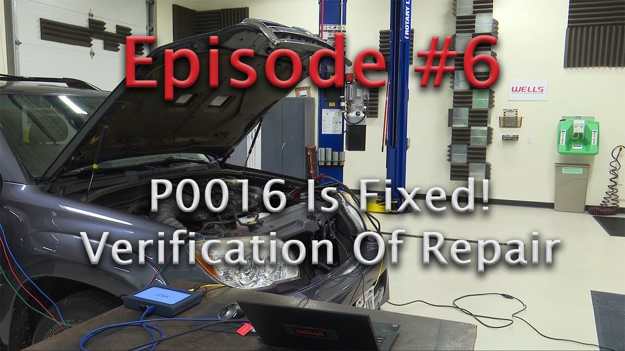 2016 Subaru Forester Wiring Diagram Episode 6 Verifying The Timing On Our Toyota 4 0l P0016