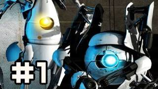 Portal 2: Co-op Campaign - For Science! w/ Nova & Sly Ep.1