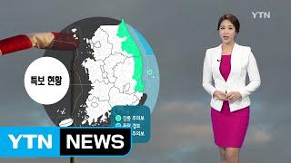 [날씨] 내일 오전까지 옅은 황사...중부 오후부터 비 / YTN