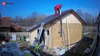 Solidarne kuće za ljude - izgradnja nakon potresa, Glina
