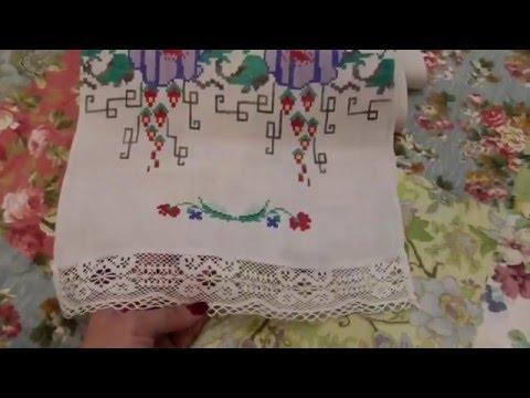 Весільний рушник,вишитий близько 50 років назад.