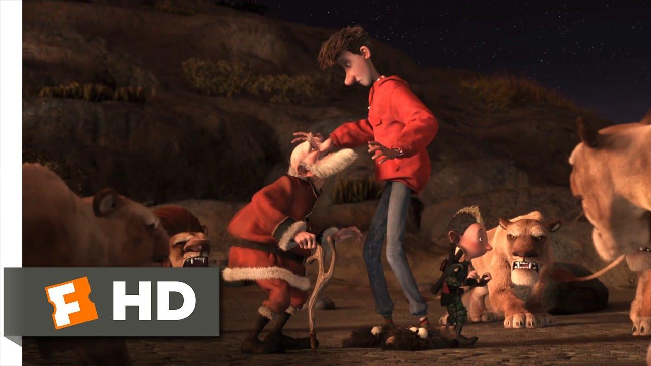 arthur christmas 610 movie clip man eating lions 2011 hd - Cast Of Arthur Christmas