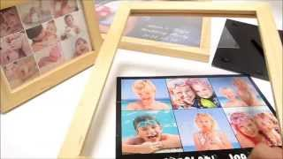 Jigsaw Puzzle Wooden Frame