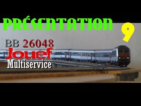 [PRÉSENTATION] La BB 26048 Multiservice Jouef