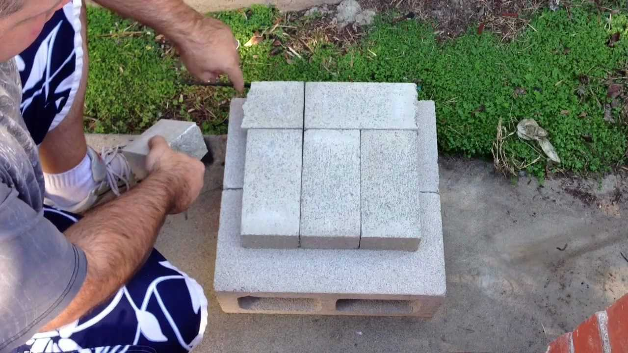 how to make a brick rocket stove for your backyard youtube