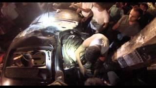 Люди Вытащили Зажатого Пассажира Авто до Приезда Спасателей.