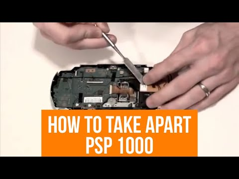 How To Repair And Disassemble A PSP 1000