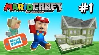 Minecraft Creando Nuestra Mansión en la Nueva Serie MarioCraft Cap 1 | Minecraft en AbreloGame