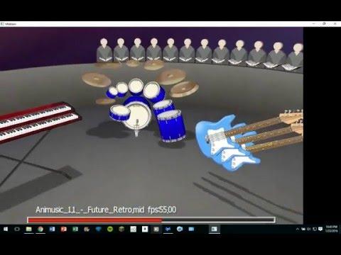 MidiJam - Animusic: Future Retro