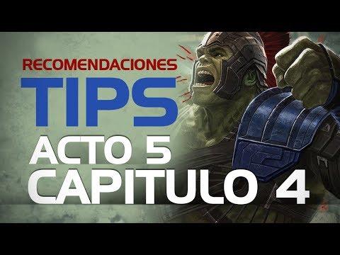 Consejos y Tips Acto 5 Capitulo 4 | Marvel Contest Of Champions
