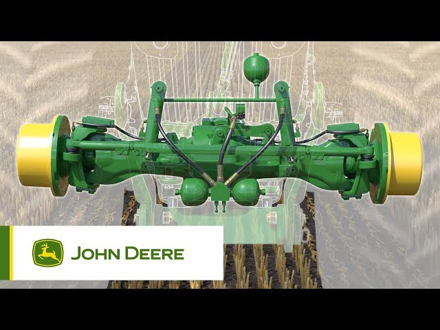 John Deere | 7R Series Tractors - Suspension (TLS/ActiveSeat/HCS+) Animation