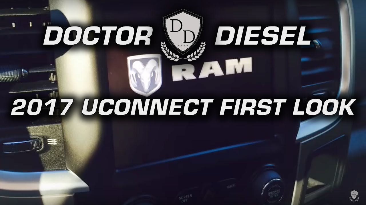 Laramie UConnect System First Look and Tips - 2017 RAM Trucks